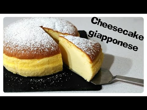 cheesecake giapponese - la video ricetta