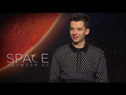 Interview with Asa Butterfield for 'The Space Between Us'