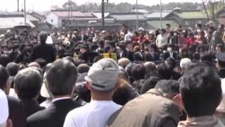 各務原大橋開通記念(6)ギネス挑戦ハンドベル