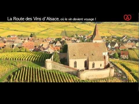 La Route des Vins d'Alsace, où le vin devient voyage