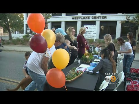 Thousand Oaks Volunteers Hold Charity Event For Borderline Shooting Victims As Community Shows Outpo