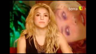Shakira habla de Cerati (Octubre 2010)