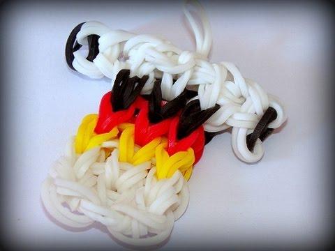Loom Bands mit Rainbow Loom – Deutschland Trikot WM Fussball (deutsche Anleitung)