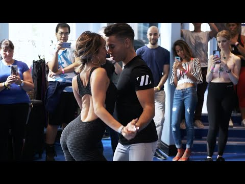 Pablo y Raquel | Bachata Class Day 1 at London LatinFest 2018 | ZELUS LONDON