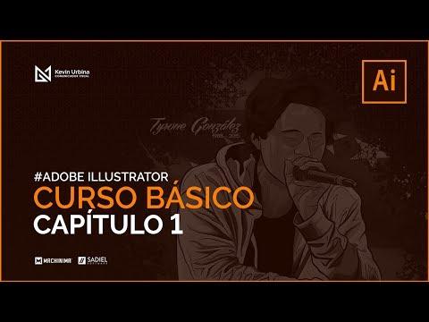 01 Curso de Illustrator CC para principiantes: Menú Archivo y Movimientos Básicos