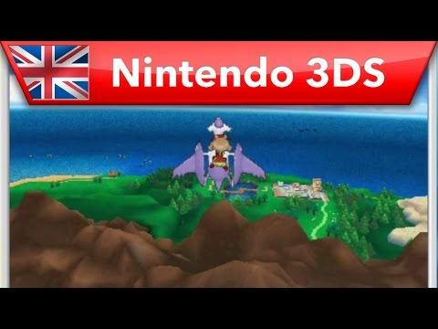 Pokemon: Omega Ruby/Alpha Sapphire - Take To The Skies (Nintendo 3DS) Video