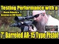AR Pistol Performance