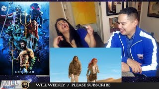 Honest Trailers Aquaman REACTION