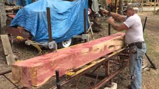 Video Cedar Log Being Milled on a Foley-Belsaw A-14 Circular Sawmill 2 MP3, 3GP, MP4, WEBM, AVI, FLV Februari 2019