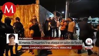 Asesinan a 13 personas en una fiesta en Minatitlán, Veracruz