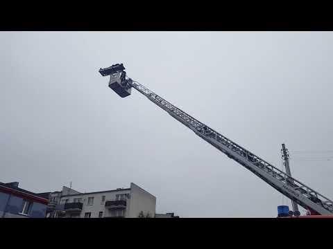 Wideo1: Nowy sprzęt w KP PSP Gostyń. Szkolenie