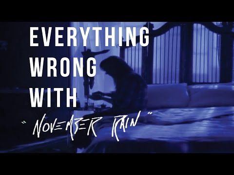 "Everything Wrong With Guns N' Roses – ""November Rain"""