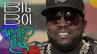 Big Boi - What's in My Bag?
