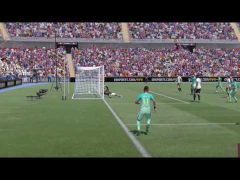 Fifa 17- Neymar - Best goal so far by Rodyel & Scotty38886