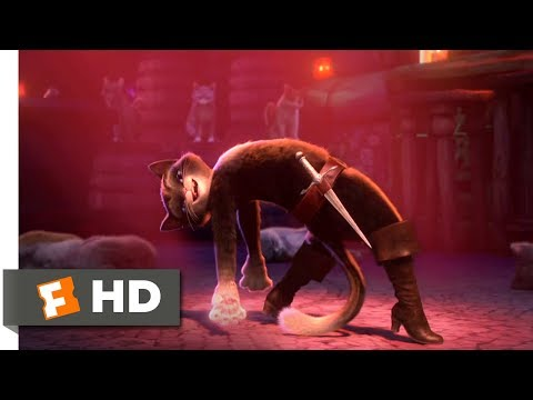 Puss in Boots (2011) - Save the Last Dance Scene (10/10) | Movieclips