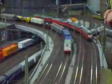 Modellbahn Club Kiel(5): Big HO Model Railway Layout scenery railroad toy trains