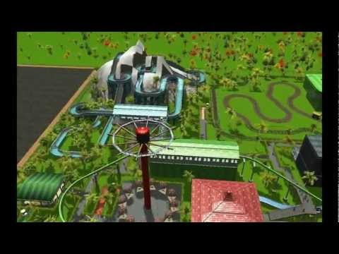 rct3 - Well, this sucks. I made a huge mistake and deleted this park with a totally different park: California's Great America. I'm working on a new version right n...
