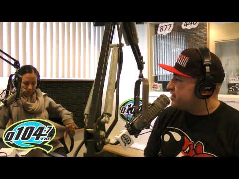 Comedian Anjelah Johnson Interview on Q104.7 The Rico and Mambo Morning Show