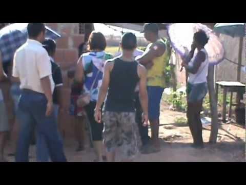 Darlene Moura 15 em visita no centro de Vila Boa.