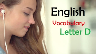 English vocabulary: Hello Channel D