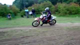 7. KTM 450sxf  2008 First Run - Gummy