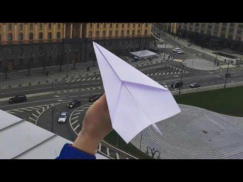 Russland: Papierflieger als sanfter Protest gegen Tel ...