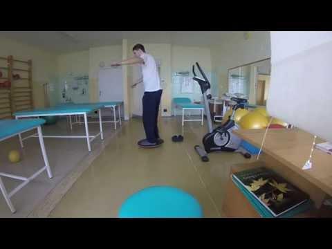 Balancing exercise for rehabiliation
