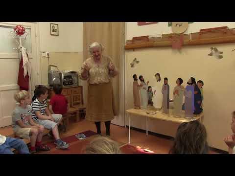 2018-04-23 Csillag Éva hittanórái a Szent Gellért Óvodában - 2018-04-23