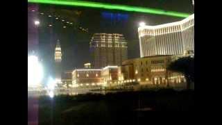 Top Casino Hotels In Macau At Night, China