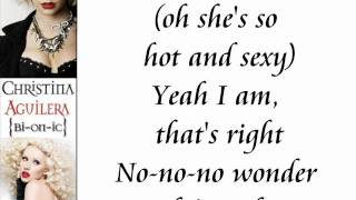 Christina Aguilera - Vanity (Lyrics On Screen)
