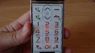 телефон раскладушка 2 Sim,mp3, Fm, фонарик.