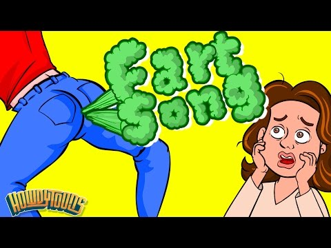 Everybody Farts - The Farting Song | Funny Songs by Howdytoons