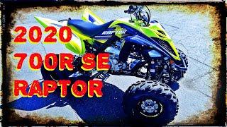 2. 2020 Yamaha Raptor 700R SE