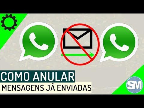Como anular mensagens já enviadas no WhatsApp
