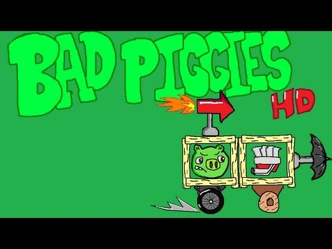 Bad Piggies - Field of Dreams PART 1