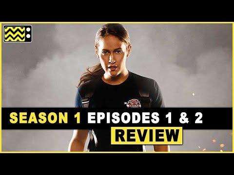 Station19 Season 1 Episodes 1 & 2 Review & Reaction   AfterBuzz TV