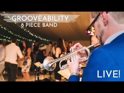 Grooveability LIVE 8 piece band