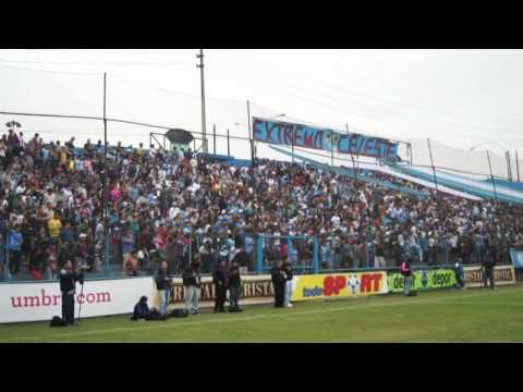 Video - vamos Cristal vamos pongan huevos que ganamos - Extremo Celeste - Sporting Cristal - Peru