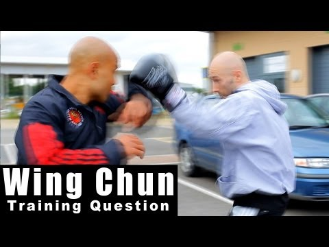 wing chun how you can deal with a boxers jab hook. Q37