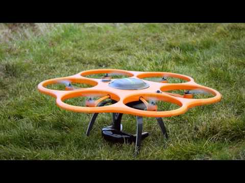UAV flight training with Aibot X6 industrial drone