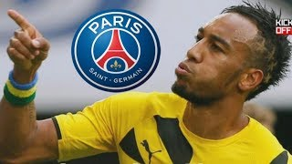 Pierre-Emerick Aubameyang has been linked with top clubs including Real Madrid and Paris Saint-Germain ever since finding his scoring boots at Dortmund. This season he even managed to win the Bundesliga's top scorer award ahead of Robert Lewandowski. Will he stay or will he leave this summer?Subscribe: http://youtube.com/dwkickoffDW Kick off! is your ticket to German football:Facebook: http://facebook.com/dw.kickoffTwitter: http://twitter.com/dw_sportsWebsite: http://dw.com/sports