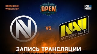 EnVyUs vs Na'Vi - Dreamhack Winter 2017 - map1 - de_overpass [yXo, Enkanis]