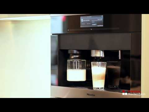 Miele Einbau-Kaffeevollautomat mit Bohnensystem CVA 6800