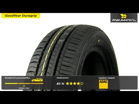 Youtube GoodYear Duragrip 165/60 R15 81 T XL Letní