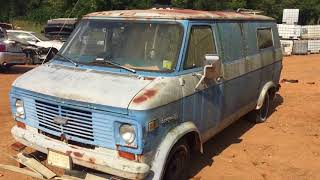 Scrapped! Its Van-Tastic!