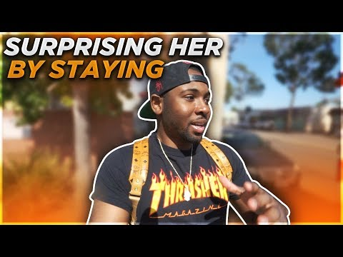 SURPRISING HER BY STAYING FOR HER SURGERY & BIRTHDAY?!