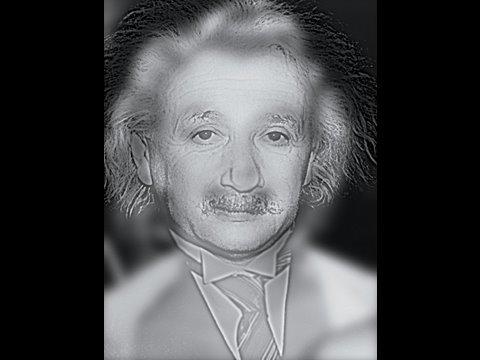 「人間の視覚的錯覚を利用した近視を見分ける画像。」のイメージ