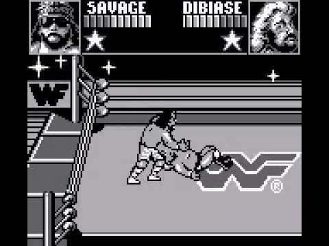 WWF Superstars Game Boy