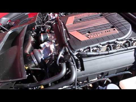 VR built 754RWHP 2015 C7 Z06 hits the chassis dyno/Idle Clip/Drive by