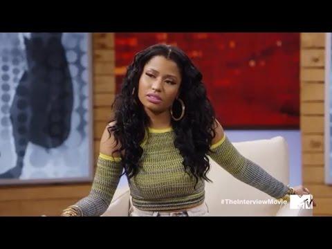 James Franco Awkwardly Interviews Nicki Minaj & Iggy Azalea for MTV VMA Promo